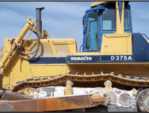 KOMATSU D375A1